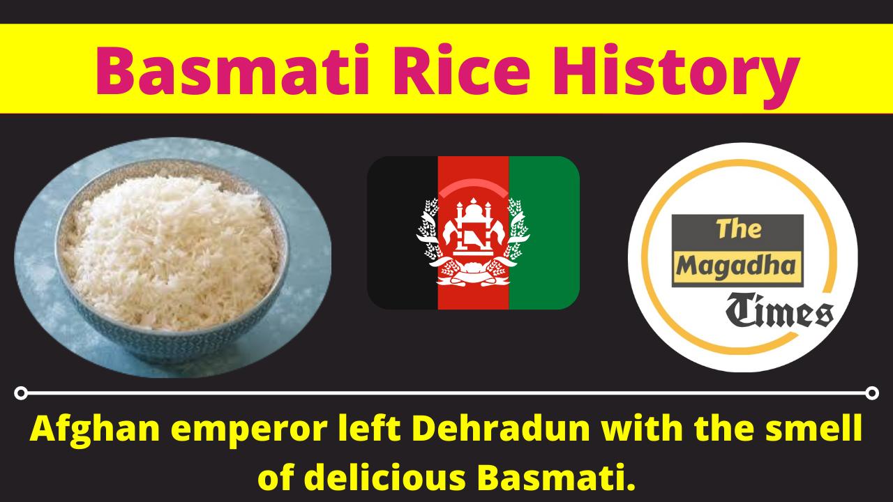 Afghanistan & India Basmati History