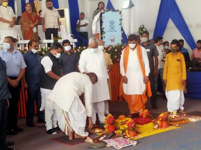First Double-Decker flyover being built in Patna bihar- CM Nitish Kumar
