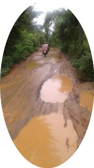 The road connecting Arwal-Patna